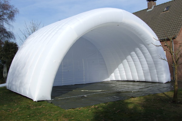 Opblaasbare stage cover tent